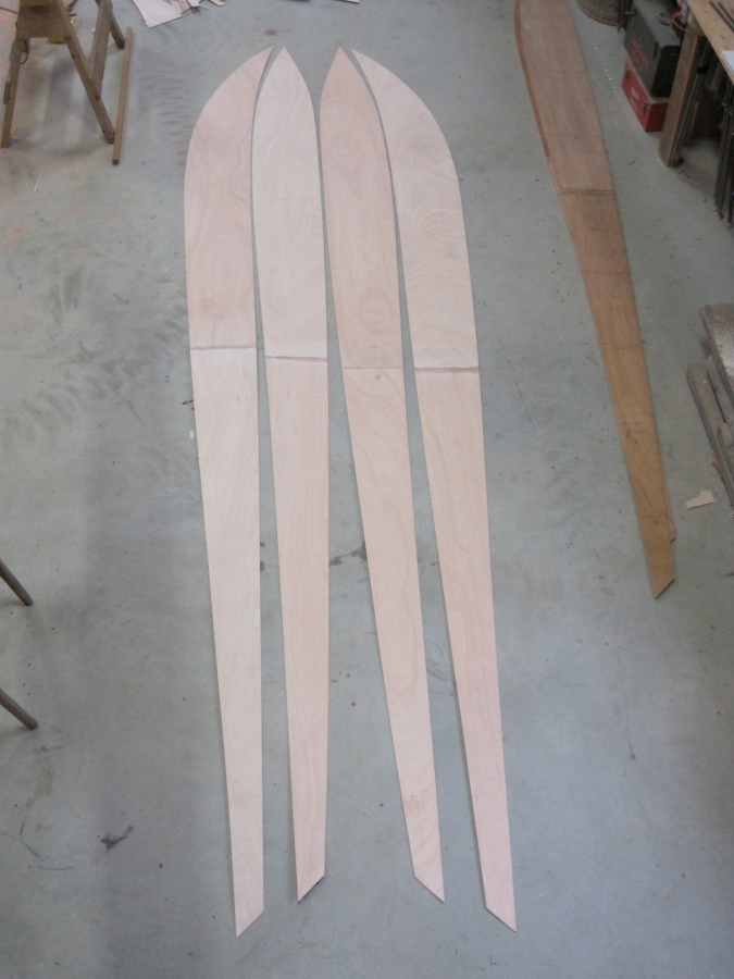 Following are photos of the building of an Icywood/DN crossover for Ron Buzzel
