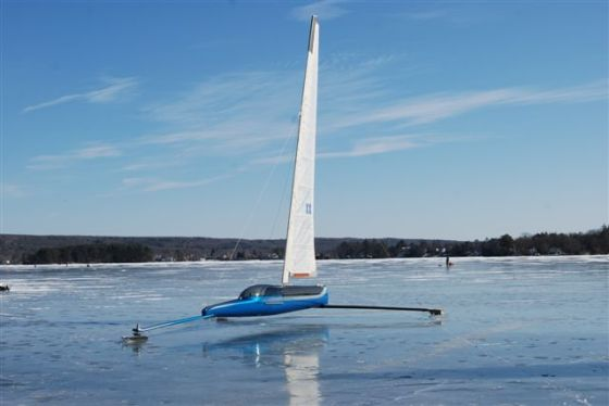 New diy boat useful wooden ice boat plans for Ice scratcher boat motor for sale