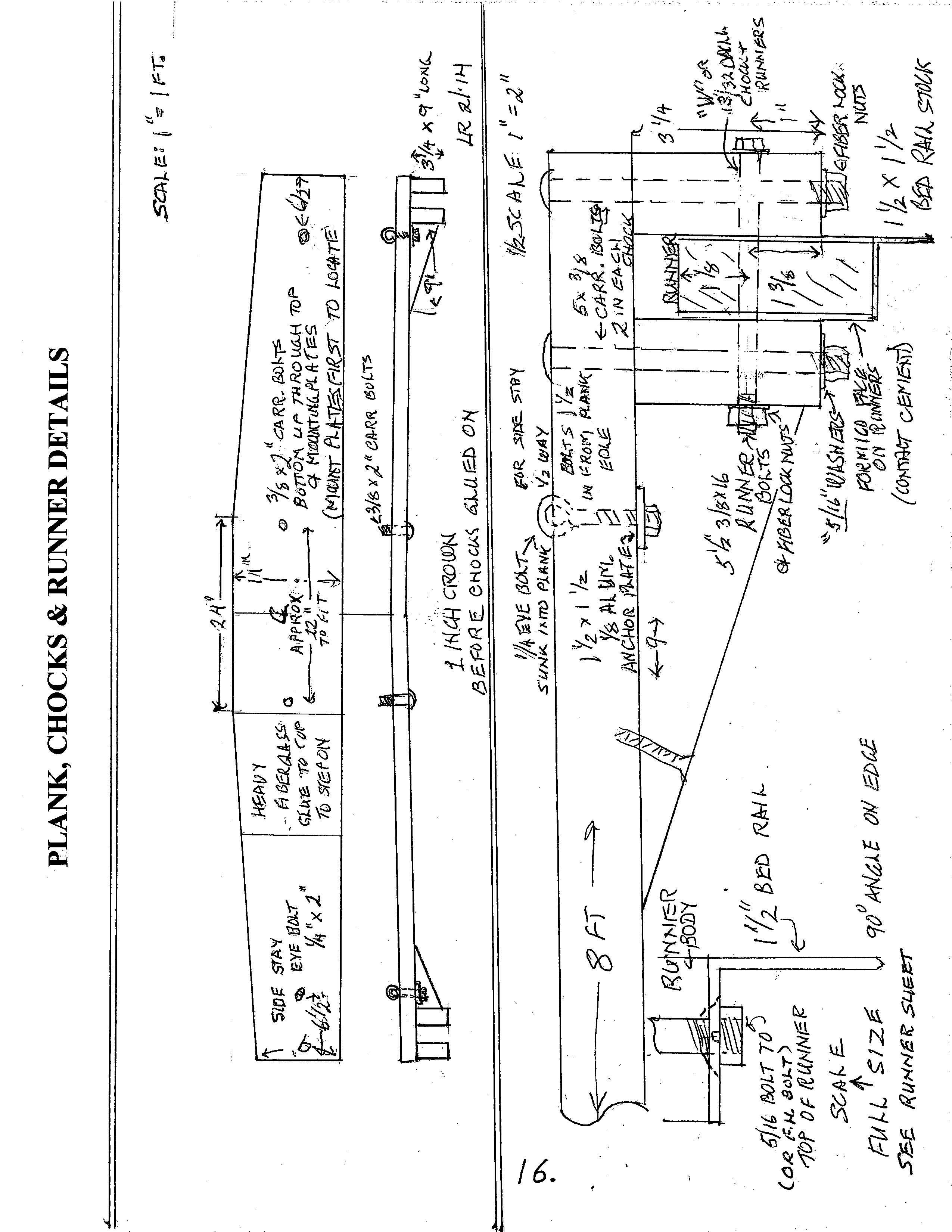 Cheapskate Iceboat The Manual Chickawaukie Ice Boat Club Marine Wiring Diagrams Sailboat Mast Cib Page 16