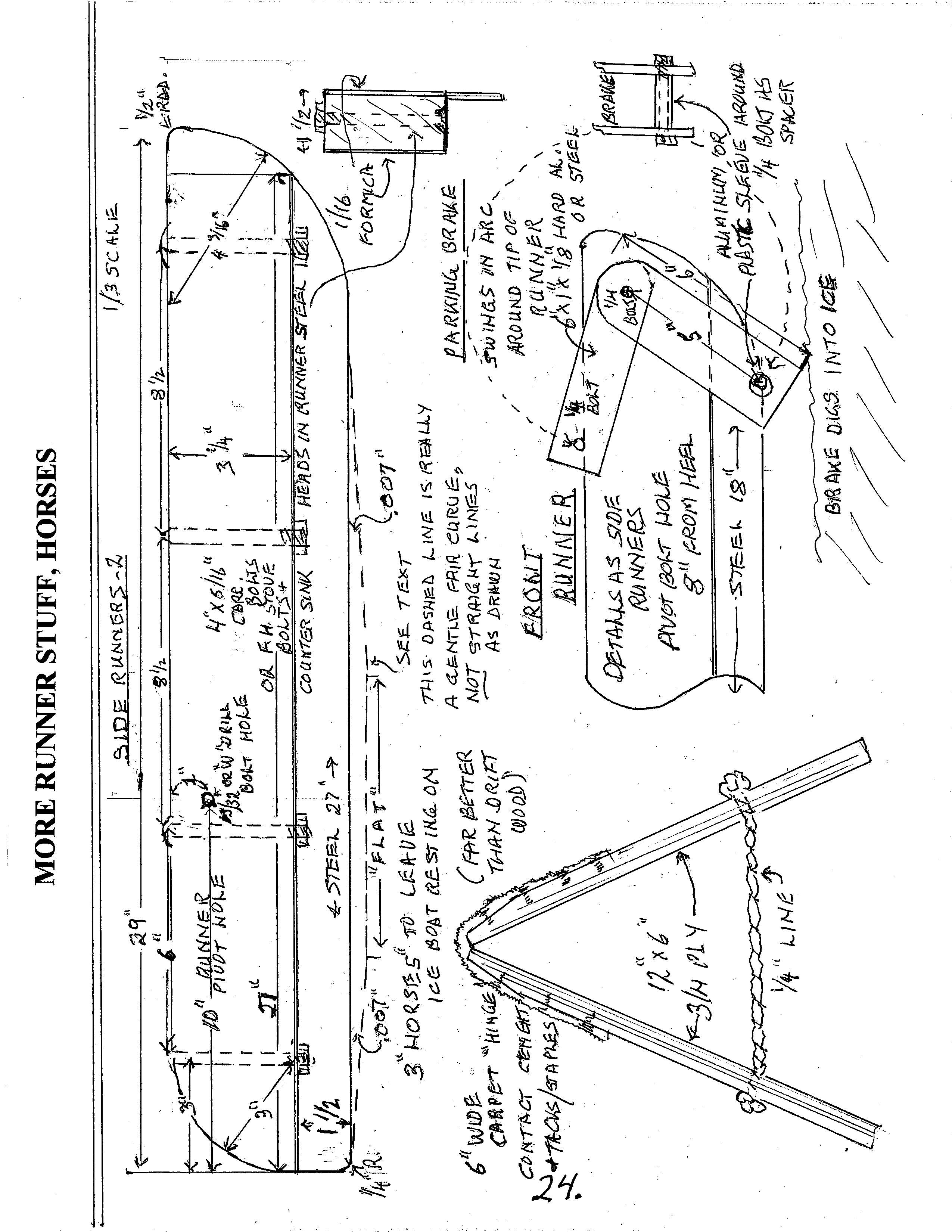 cheapskate iceboat u2013 the manual chickawaukie ice boat club