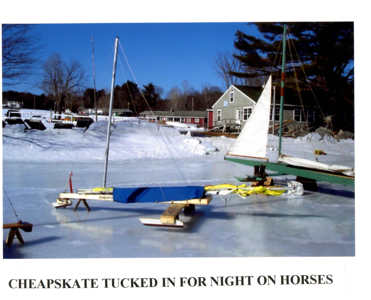 Cheapskate Iceboat – The Manual | Chickawaukie Ice Boat Club