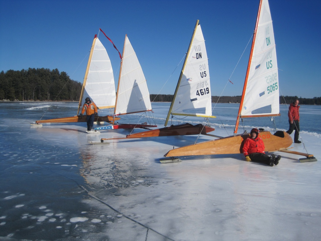 Boats for sale and swap chickawaukie ice boat club for Ice scratcher boat motor for sale